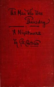 Chesterton - The Man Who Was Thursday.djvu