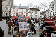 Chez Eugène, Place du Tertre, Paris 15 March 2010.jpg