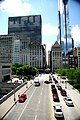 """Chicago (ILL) Downtown, E Monroe St. """" Mid continental plaza """" 1972 & """" Legacy Tower """" 2009 (4826386524).jpg"""