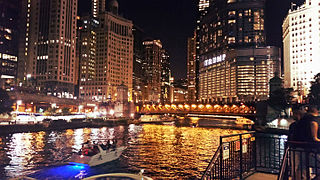 Chicago River Rivers and canals running through the city of Chicago