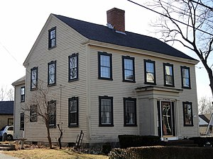 Chickering House - Image: Chickering House Andover, MA DSC03518