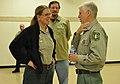 Chief speaks with Ann Carlson, Eagle Lake District Ranger at Lassen NF 05.04.11 (5735106926).jpg