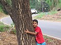 Child hugging tree at Peravoor (6).jpg