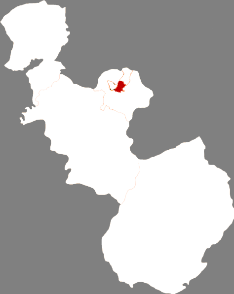 Location in Anshan