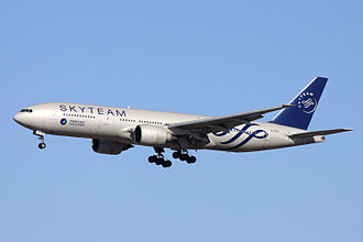Airline alliance - Boeing 777 of China Southern