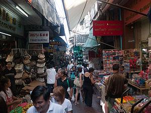 Yaowarat Road - Soi Wanit 1, The main market street