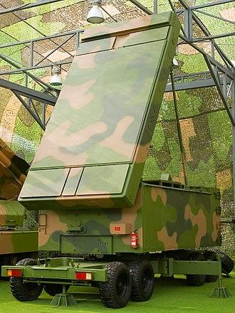 KS-1 (missile) - A H-200 radar on display at the same exhibition