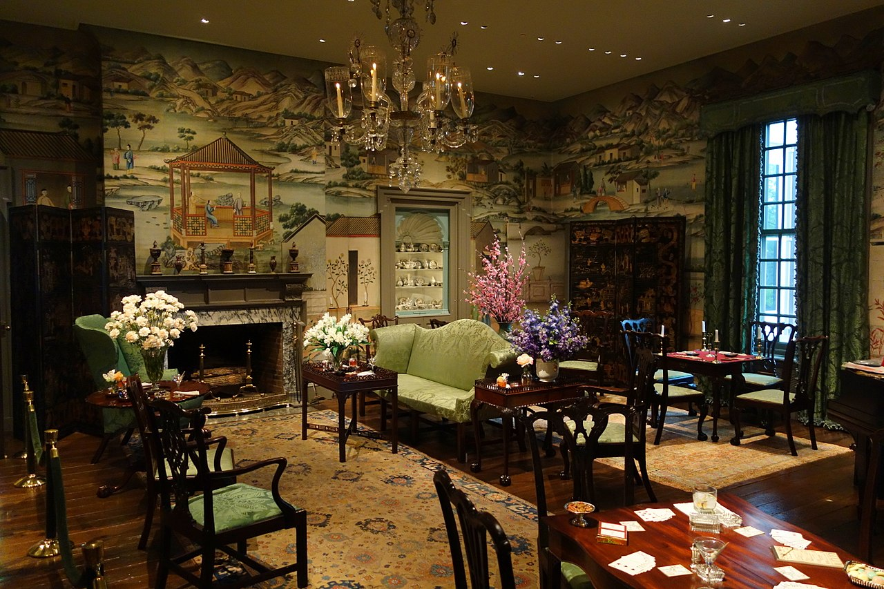 File:Chinese room, wallpaper from China, 1775-1800 ... - photo#5