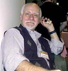 portrait photographique de Chris Claremont