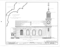 Christ Episcopal Church, Broad Street and Sycamore Avenue, Shrewsbury, Monmouth County, NJ HABS NJ,13-SHREW,1- (sheet 5 of 19).png