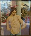 Christ at the Column, attributed to Antonio Pollaiolo, late 15th century, oil on panel, once owned by Robert Browning - Gallery - Harewood House - West Yorkshire, England - DSC01972.jpg