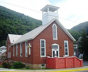 South Renovo, Pennsylvania - Image: Christian Community Church South Renovo