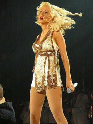 "Come On Over Baby (All I Want Is You) - Aguilera performing a jazz version of ""Come On Over Baby (All I Want Is You)"" during the Back to Basics Tour."