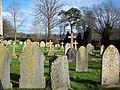 Churchyard at St Mary's Church, West Dean - geograph.org.uk - 356073.jpg