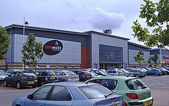 Kingswood, Kingston upon Hull - Cineworld Cinema multiplex (2007)