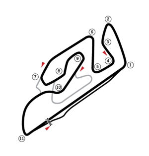2004 Valencian Community motorcycle Grand Prix - Image: Circuit Valensia (test)
