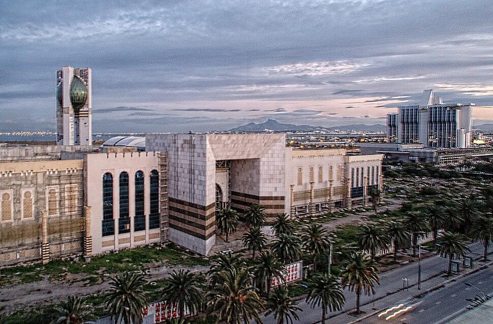 Cité de la culture, Tunis 27 décembre 2014