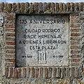 Ciudad Rodrigo, Placa comemorativa 1987.jpg