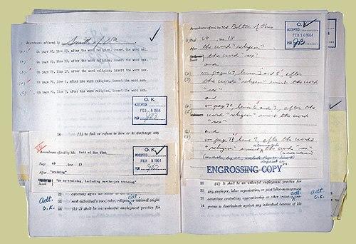 CivilRightsAct1964-HouseRollCall-Sex-Amendment