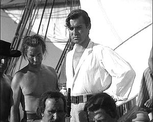 Mutiny on the Bounty (1935 film) - Clark Gable as Fletcher Christian