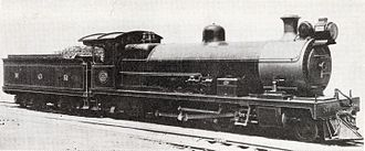 South African Class 2C 4-6-2 - Image: Class 2C 4 6 2 no. 11