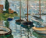 Claude Monet - Boats Moored at Le Petit-Gennevilliers, 1874.jpg