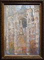 Claude monet, la cattedrale di rouen, il portale, sole mattiniero (armonia blu), 1893.JPG