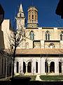 Claustro de la Catedral de Tudela, torres.jpg
