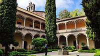 Claustro renacentista del monasterio de Yuste, Cáceres.jpg