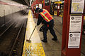 Cleaning Platform Tiles. (6944505875).jpg