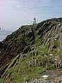 Cliff and lighthouse - geograph.org.uk - 173331.jpg