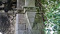 Cloonshanville Priory Tower NE Corbel 2014 08 29.jpg