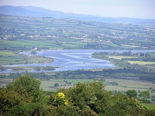 River Foyle River in the northwest of the island of Ireland
