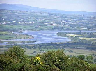 River Foyle - River Foyle from Holly Hill, near Strabane