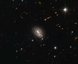 Interacting galaxy - Image: Close encounter IRAS 06076 2139