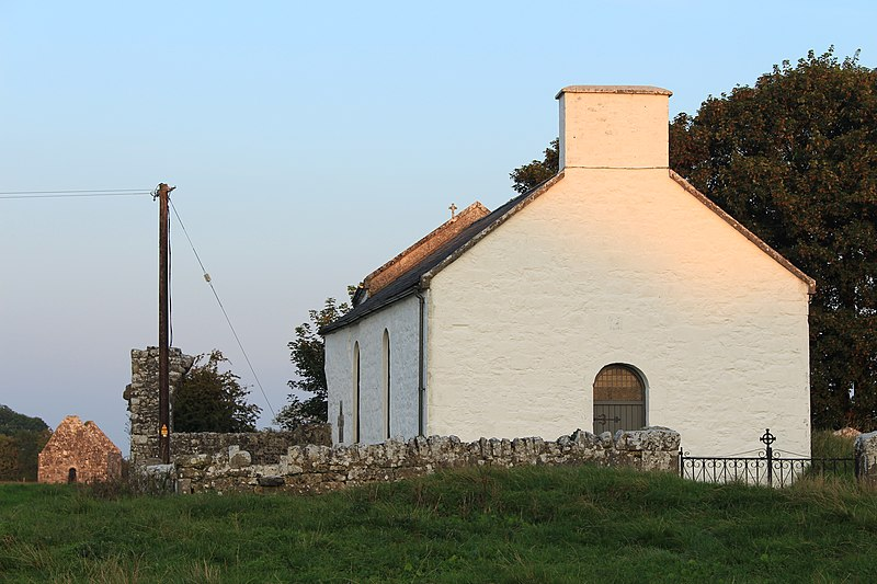 File:Close up of Old Rahan church and New Rahan church.JPG