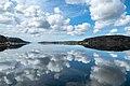 Clouds reflected in Brofjorden.jpg