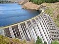 Clywedog Dam and Llyn Clywedog Reservoir - geograph.org.uk - 787767.jpg