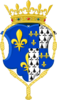 CoA of Claude of France.png