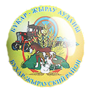 Bukhar-Zhyrau District - Image: Coat of arms of Bukhar Zhyrau