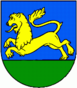 Coat of arms of Bziny.png