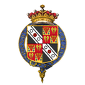 Coat of arms of Francis Seymour-Conway, 1st Earl of Hertford, KG.png