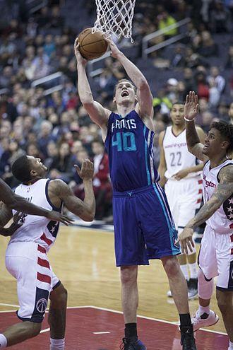 Cody Zeller - Zeller with the Hornets in December 2016