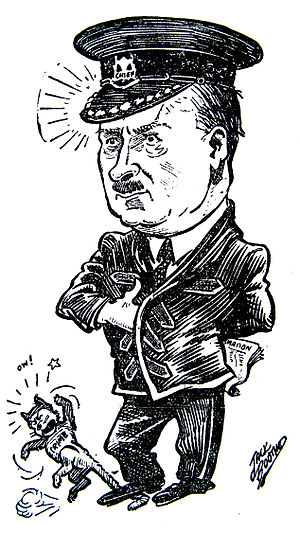 Charles Edgar Edgett - Colonel C. E. Edgett, by Jack Boothe, 1932.