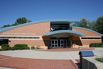 Welcome centers in the United States - Image: Coldwater Welcome Center