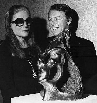 Colin Webster-Watson - Sarah Churchill with Colin Webster-Watson. New York. 1975.