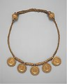 Collar with medallions containing coins of emperors MET DT236669.jpg