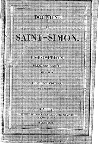 File:Collectif - Doctrine de Saint-Simon (1828-1829).djvu