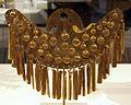Colombia, yotoco (calima), ornamento per naso, I-VII sec ca, oro sbalzato 01.JPG