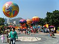 Colourful hot air balloons (7987468461).jpg